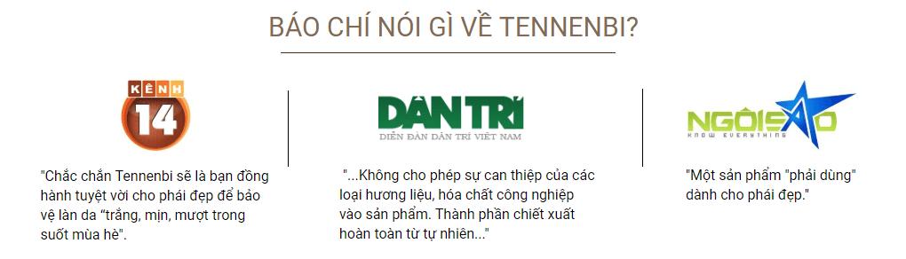 báo chí nói về Tennenbi