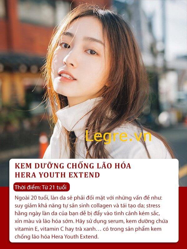 Khách hàng đánh giá kem chống lão hóa Hera Youth Extend