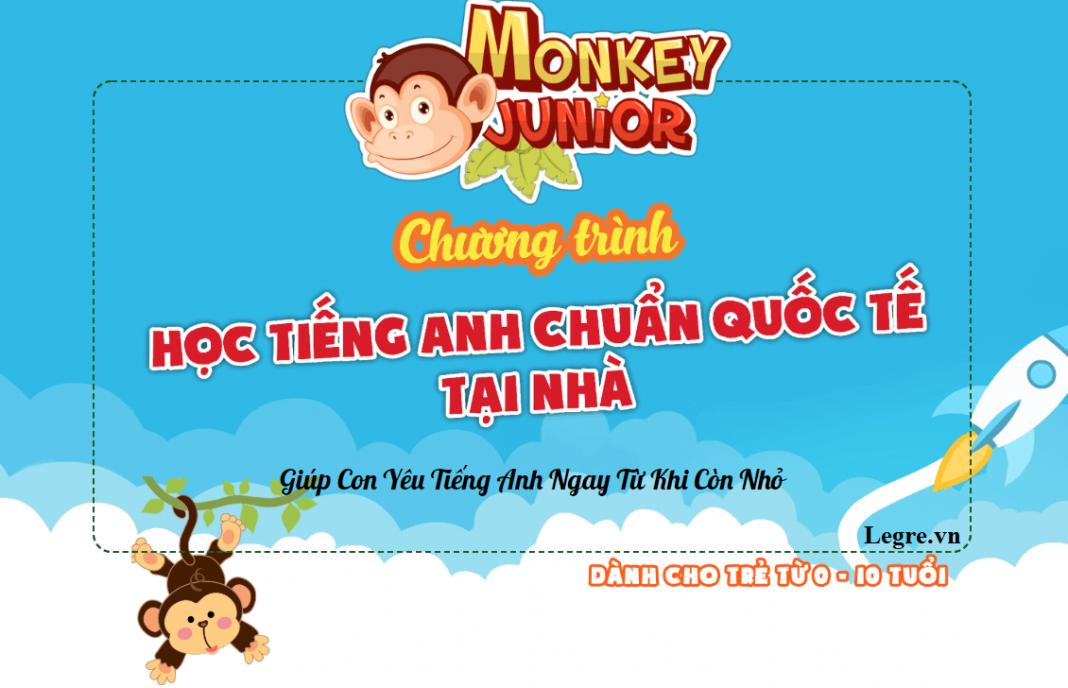 Học tiếng anh cho bé Monkey Junior