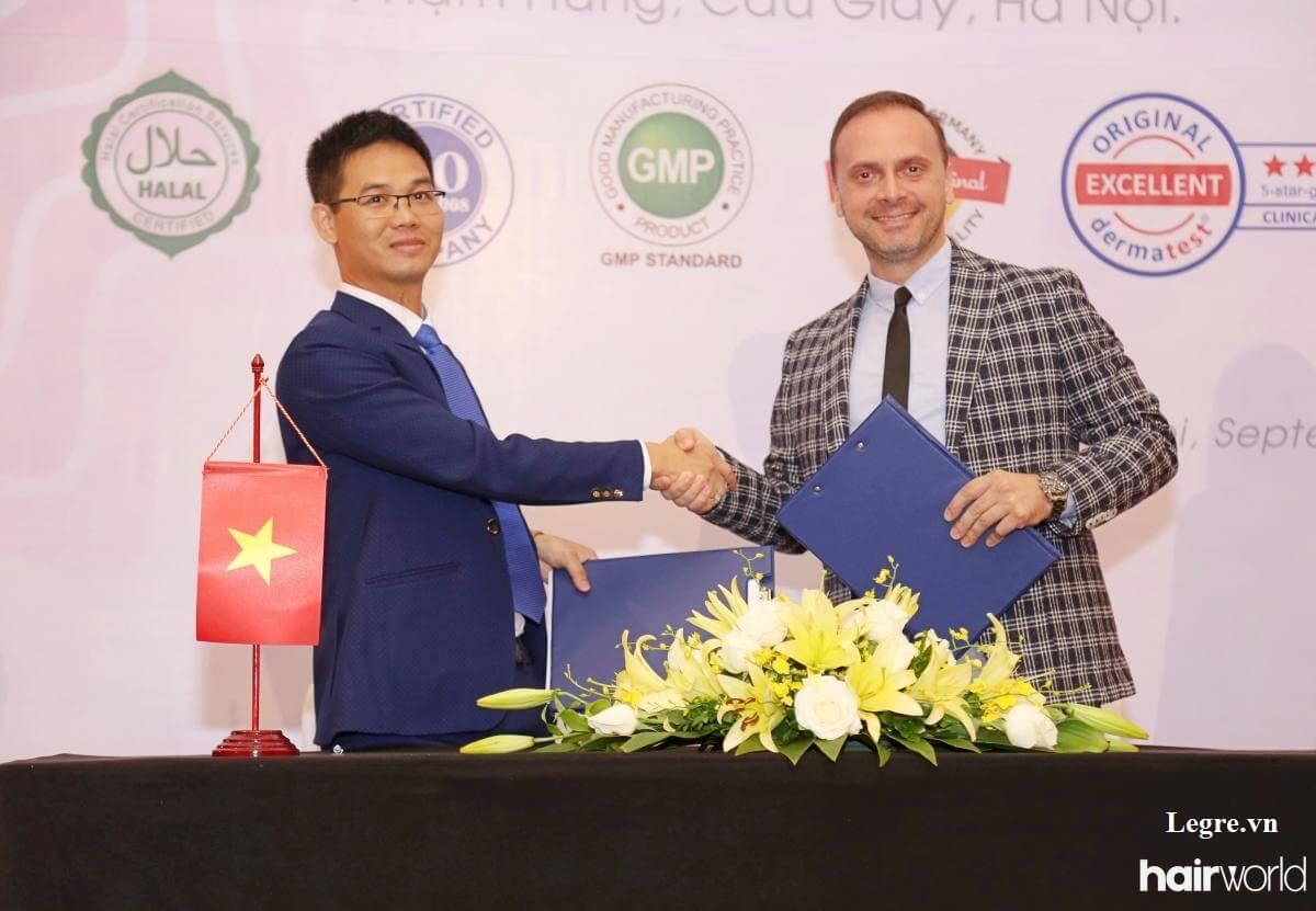 Lễ ra mắt sản phẩm vitayes instant ageback tại Hà Nội