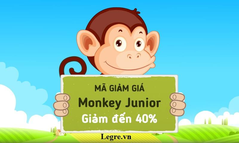 mã giảm giá monkey junior