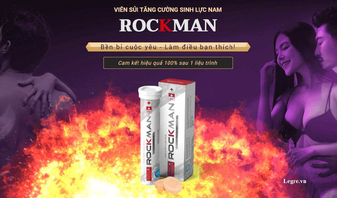 Viên sủi tăng cường sinh lực nam Rockman
