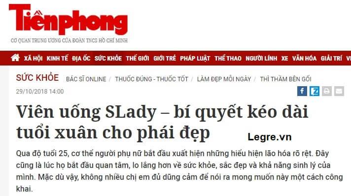 Báo chí truyền thông nói gì về Slady?