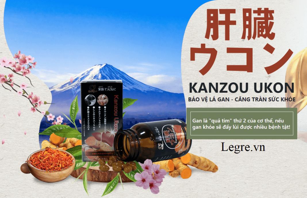 viên uống bổ gan Kanzou Ukon Nhật Bản