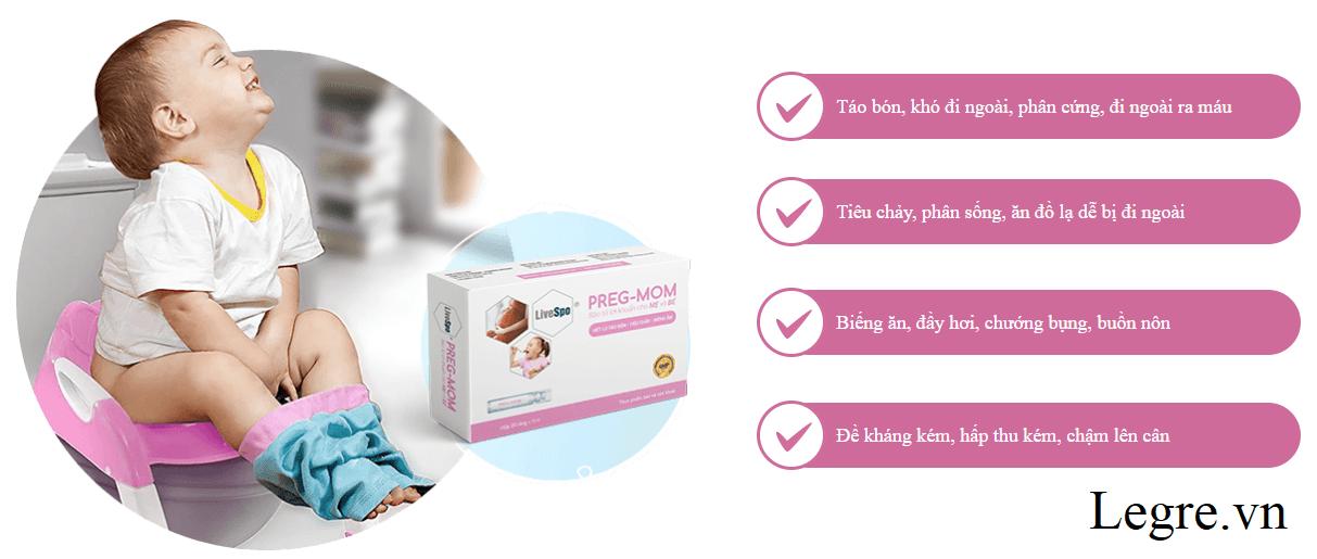 Pregmom Bào tử lợi khuẩn so với các sản phẩm khác