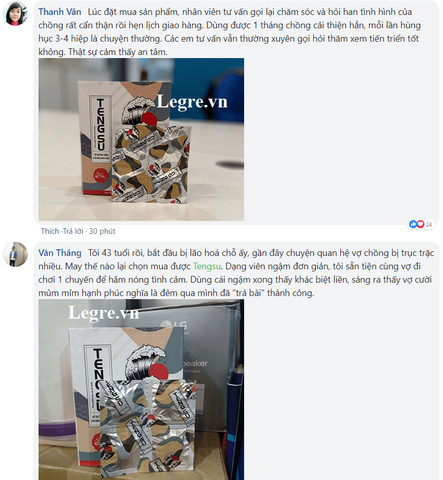 Japan Tengsu được khách hàng tin dùng