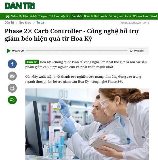 Báo chí đưa tin về Nocarb Plus